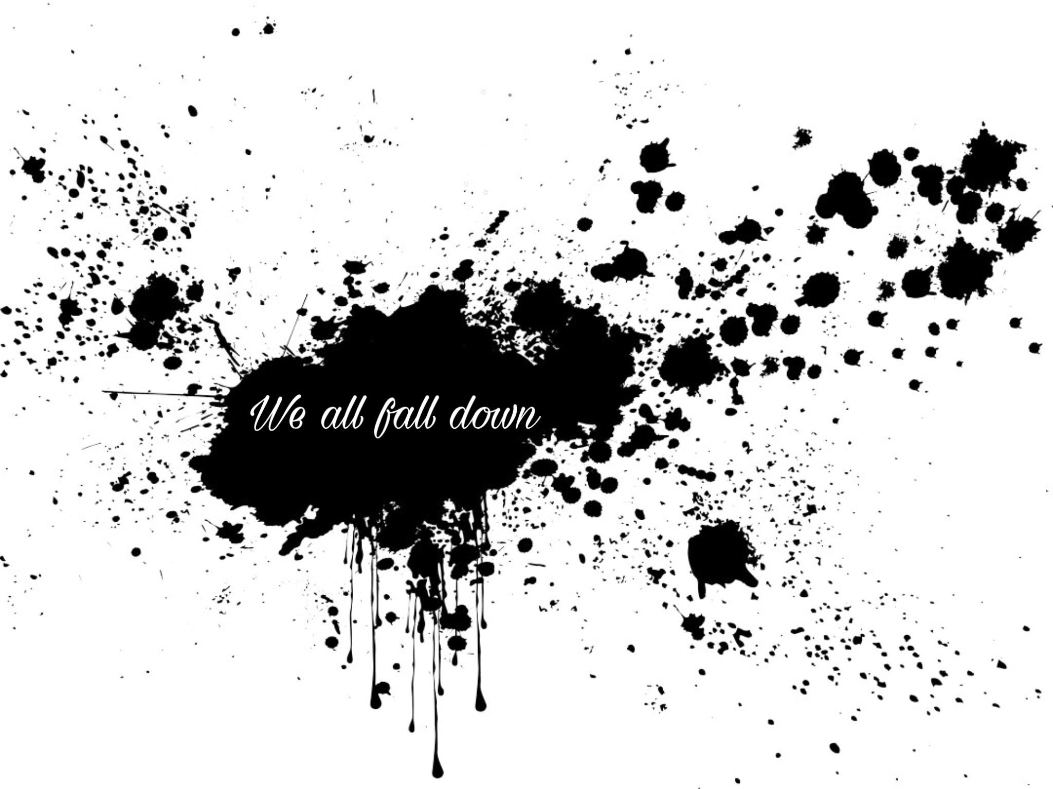 Free falls and failing upward